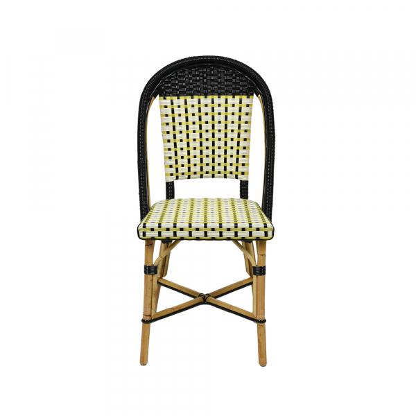Loane Chaise en rotin ou châtaigner naturel