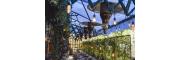 Chauffages Suspendus pour Terrasse au Style Rétro